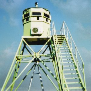 Ami / Tami, a Security Product by Mifram: Moveable, fortified observation tower
