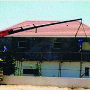BPC, a Security Product by Mifram: On house walls & roof