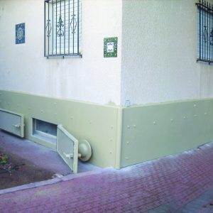 BPC, a Security Product by Mifram: Protective shell lining for walls - ground floor using the BPC technique