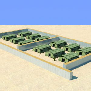Defense Wall, a Security Product by Mifram: Protection for troop and manpower concentrations