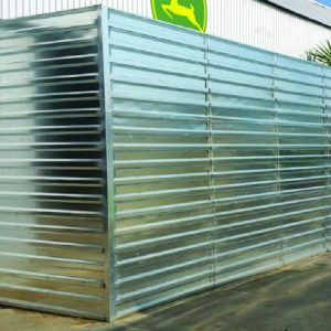 Defense Wall, a Security Product by Mifram: 3 m. Height