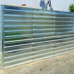 Defense Wall, a Security Product by Mifram: 2 m. Height