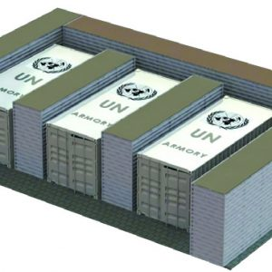 Defense Wall, a Security Product by Mifram: used by the United Nations