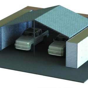 Defense Wall, a Security Product by Mifram: Hangar for vehicles, tanks, armored cars, equipment - easily dismantable