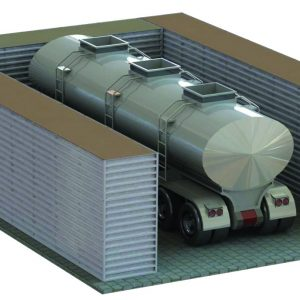 Defense Wall, a Security Product by Mifram: Protection for containers containing liquids and hazardous materials