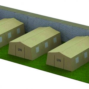 Defense Wall, a Security Product by Mifram: Troop concentrations, tent barracks, containers with sensitive materials etc.