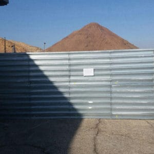 Defense Wall, a Security Product by Mifram: External view