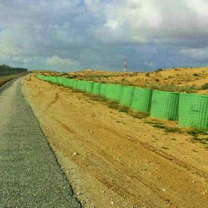 Dune, a Security Product by Mifram: System used on Israel-Egyptian border to block roads from smugglers