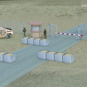 Dune, a Security Product by Mifram: Protecting bases with circular and square Dune units