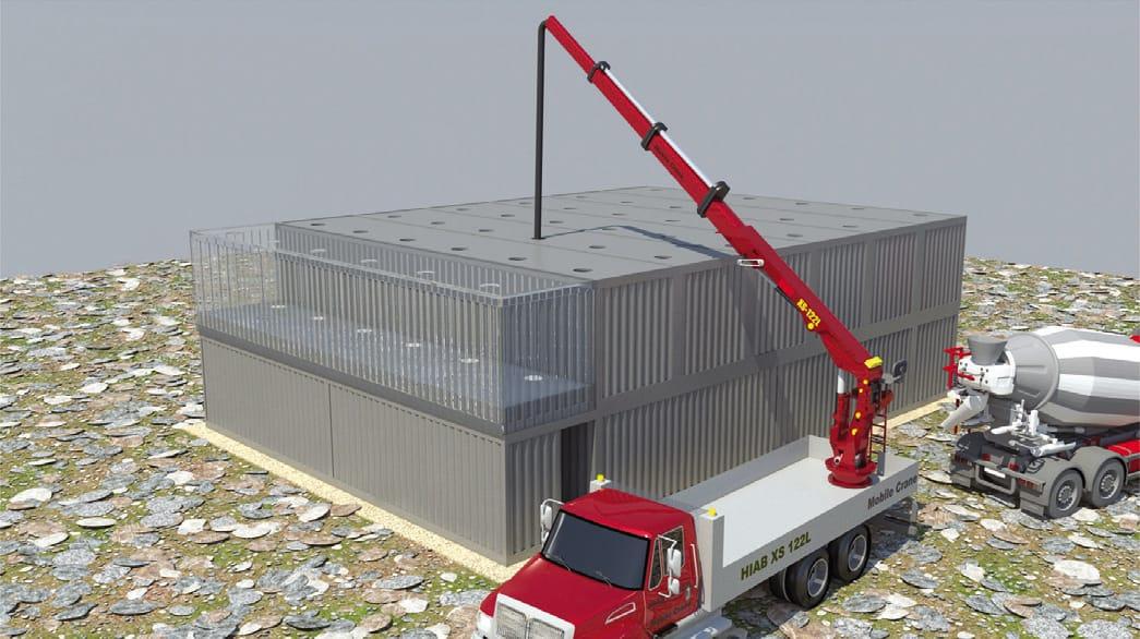 Hammer Multipurpose Container Based Hanger Mifram Security