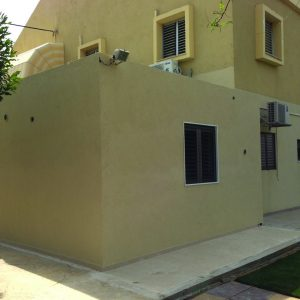 HBS, a Security Product by Mifram: Adding a fortified room to an existing house in the center of Israel