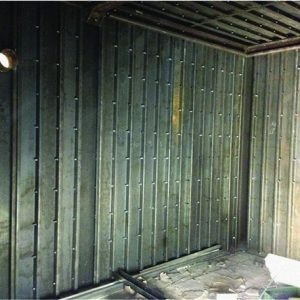 IMPS, a Security Product by Mifram: Room Fortification System being installed