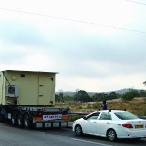 MBS, a Security Product by Mifram: Mobile Ballistic Structures are relatively lightweight - Even large MBS units are easy to transport