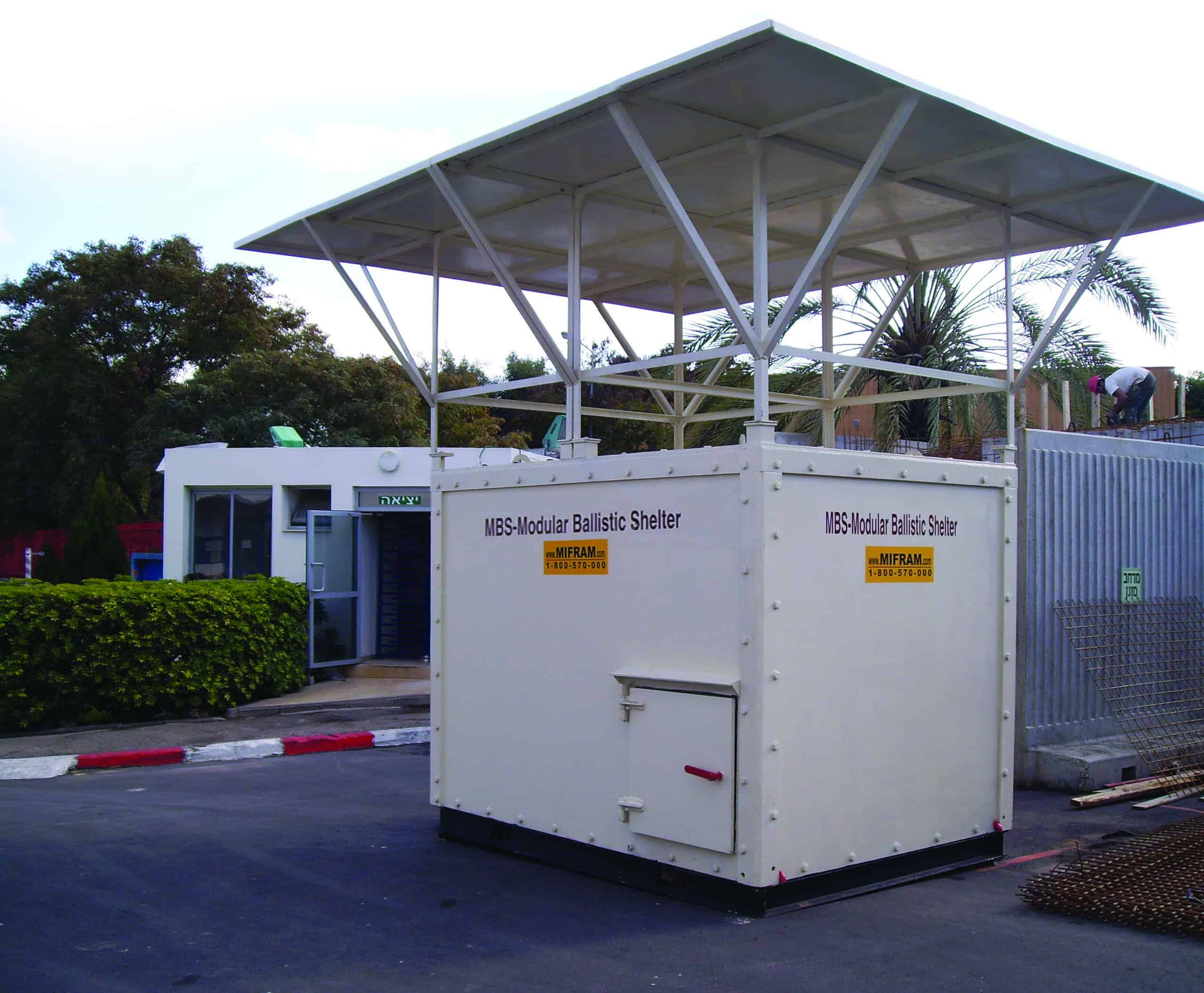 Mbs Mobile Ballistic Steel Shelter Mifram Security