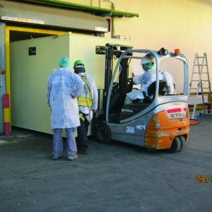 MBS, a Security Product by Mifram: MBS installed in factory production lines