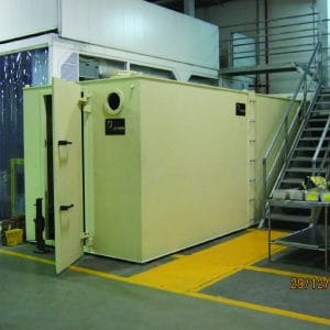MBS, a Security Product by Mifram: The MBS can fit into cramped spaces in factories