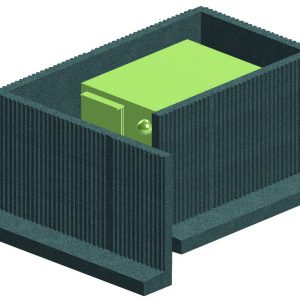 MBS, a Security Product by Mifram: Further protection with the installation of concrete entrances
