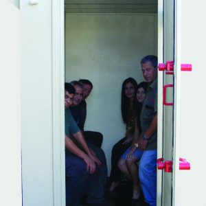 MBS, a Security Product by Mifram: Mini MBS holds 6 people sitting or 10 standing