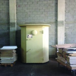 MBS, a Security Product by Mifram: Round shelter for protection of factory employees