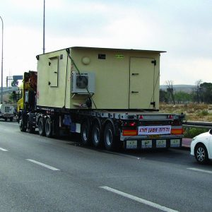 MBS, a Security Product by Mifram: 120 people mobile steel shelter