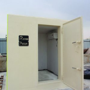 MBS, a Security Product by Mifram: Egoz mobile concrete shelter