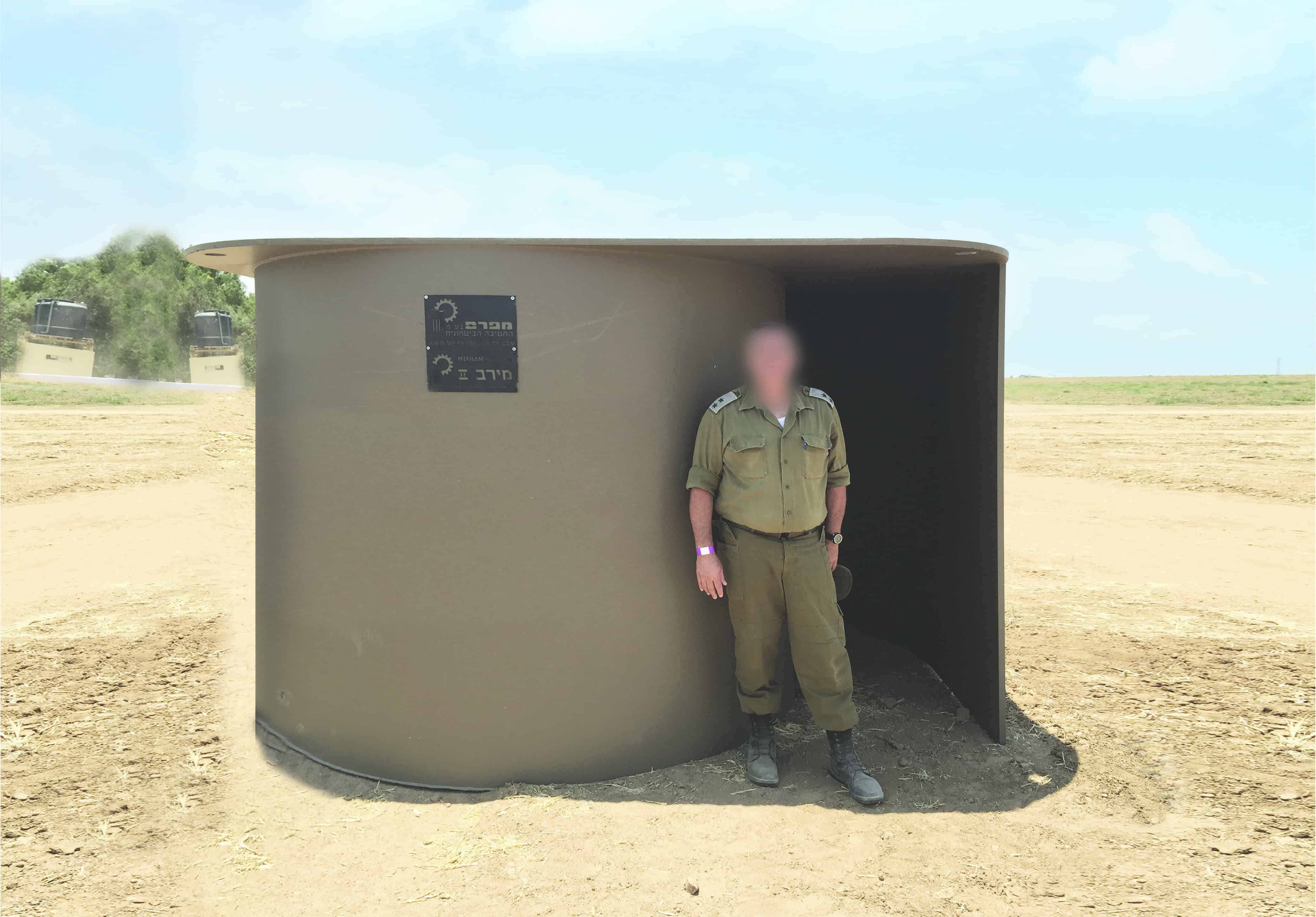 Portable Individual Shelters : Merav multi layer portable shelter mifram security