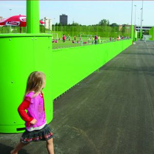 MFS, a Security Product by Mifram: Used as a permanent yet modular fencing solution