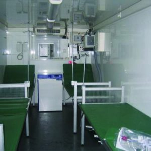 MSC, a Security Product by Mifram: Msc as Infirmary, Mobile First-Aid Posts or Medical Facility
