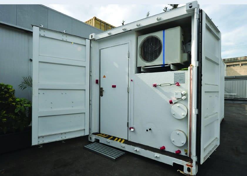 MSC: Multipurpose Security Container - Mifram Security
