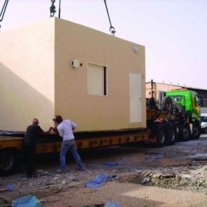 OBS, a Security Product by Mifram: Construction and installation of essential mobile shelters for the Israel Electric Corporation