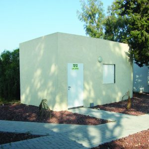 OBS, a Security Product by Mifram: Construction of mobile and fixed shelters for Israel Rail
