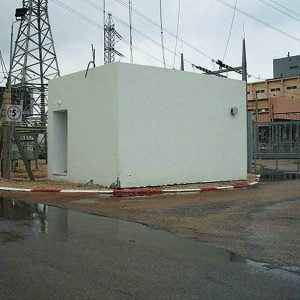 OBS, a Security Product by Mifram: Organizational fortified space at an Israel Electric Corporation site
