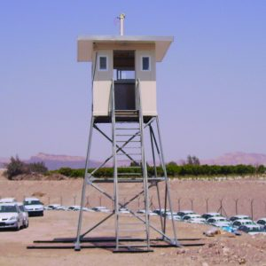 Priest 4000, a Security Product by Mifram: Overlooking Eilat Port