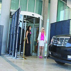 Scarlet, a Security Product by Mifram: VIP protection when entering and leaving hotels and buildings
