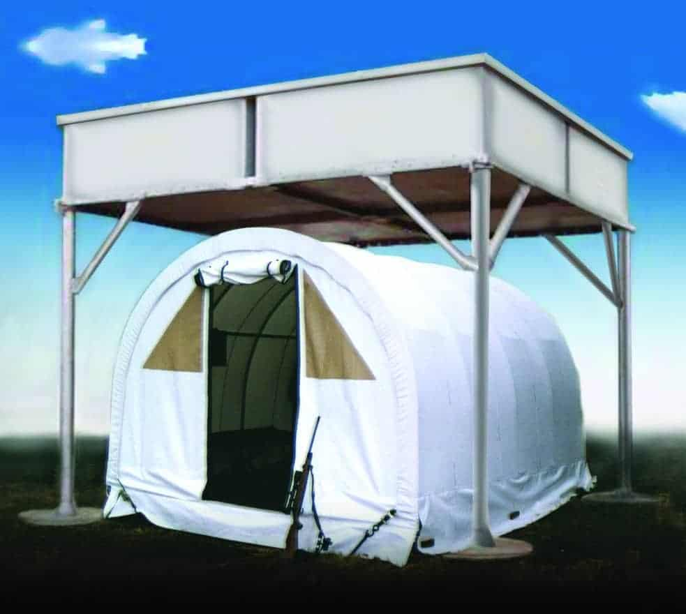 Mobile Sky Guard over a tent. Moveable Sky Guard systems can also be purchased.  sc 1 st  Mifram Security & Sky Guard - Mifram Security