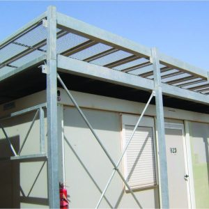 Sky Guard, a Security Product by Mifram: Light weight portable universal sky guard