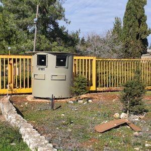 Bullet Resistant Guard Booth near the entrance to a Kibbutz