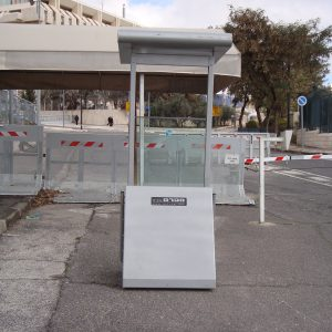 Body Guard, a Security Product by Mifram: Deployed at the entrance to Israel's prime minister office