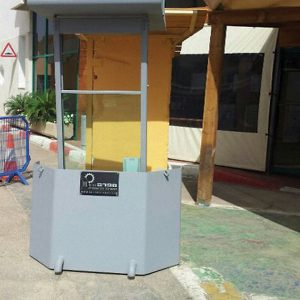 Body Guard, a Security Product by Mifram: Deployed at Taba border crossing, front view