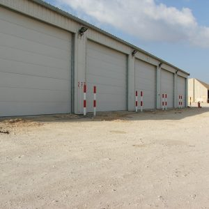 Dry Storage, a Security Product by Mifram: Outside view