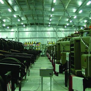 Dry Storage, a Security Product by Mifram: Military equipment storage