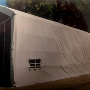 Dry Storage, a Security Product by Mifram: Standard, soft shell dry storage structure