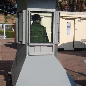 Guard Post: Bullet resistant booth a Product by Mifram