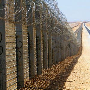 HDF, a Security Product by Mifram: Fence along the Israel-Egyptian border