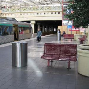 Mercury, a Security Product by Mifram: Used in a train station
