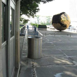 Mercury, a Security Product by Mifram: Used in a street