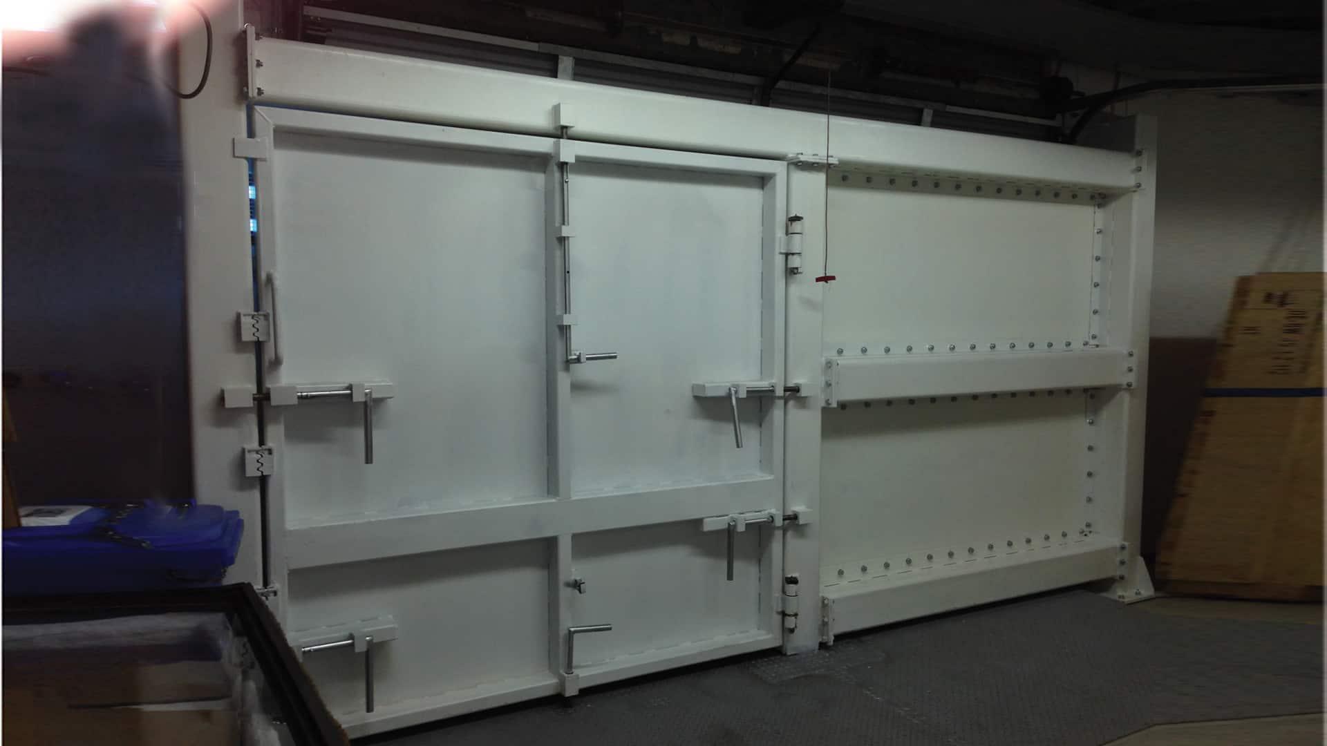 Armored heavy doors gates mifram security