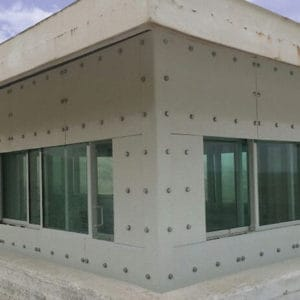 Fortified Windows, a Security Product by Mifram: Bullet proof windows externally installed in an old UN post