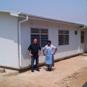 Regional AIDS treatment center in Africa – 7 clinics in a 280 SqM area for regions with a high population of AIDS sufferers