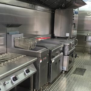 Mobile Kitchens, an Auxiliary Building by Mifram: Kitchen equipment can be changed as required by the cooks